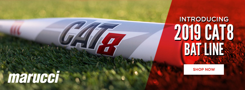 It's here! See the new 2019 CAT 8 bat lineup