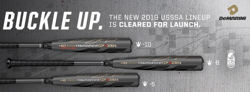 See the NEW 2019 DeMarini USSSA Bats