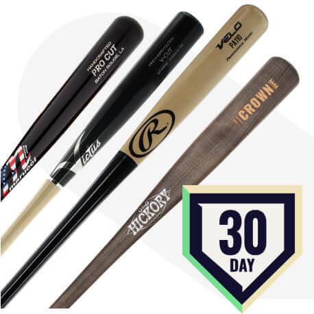 JustBats.com 30-Day Wood Bat Warranty