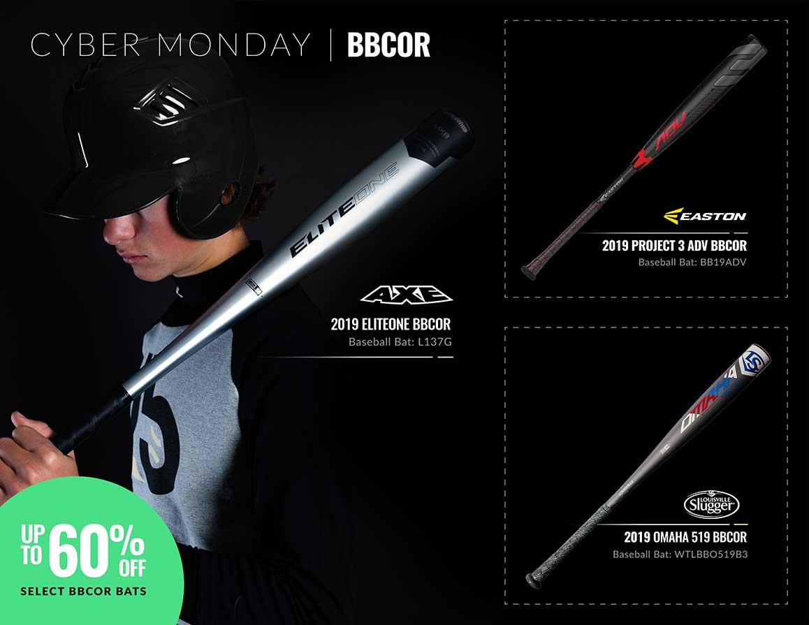 Cyber Monday BBCOR Bats