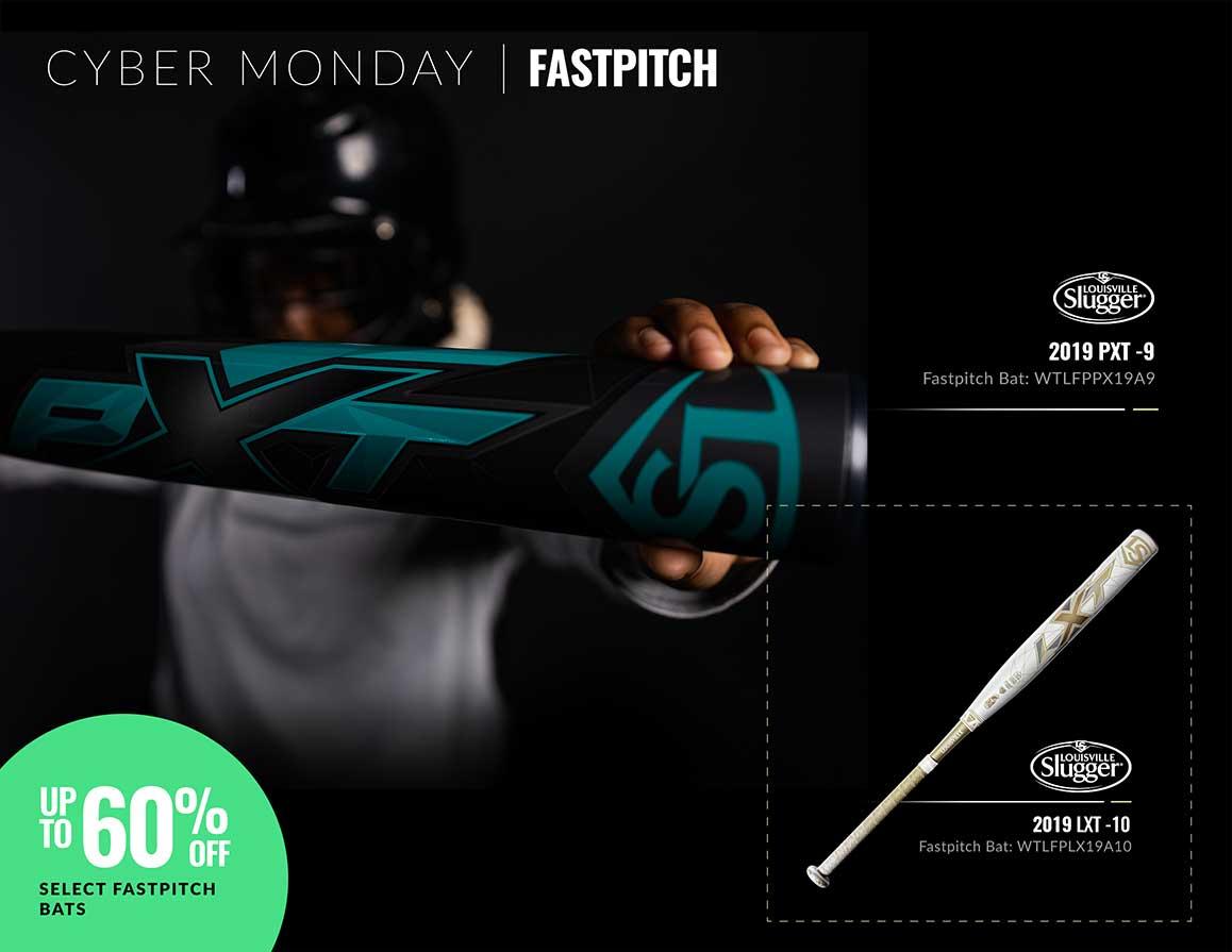 Cyber Monday Fastpitch Bats