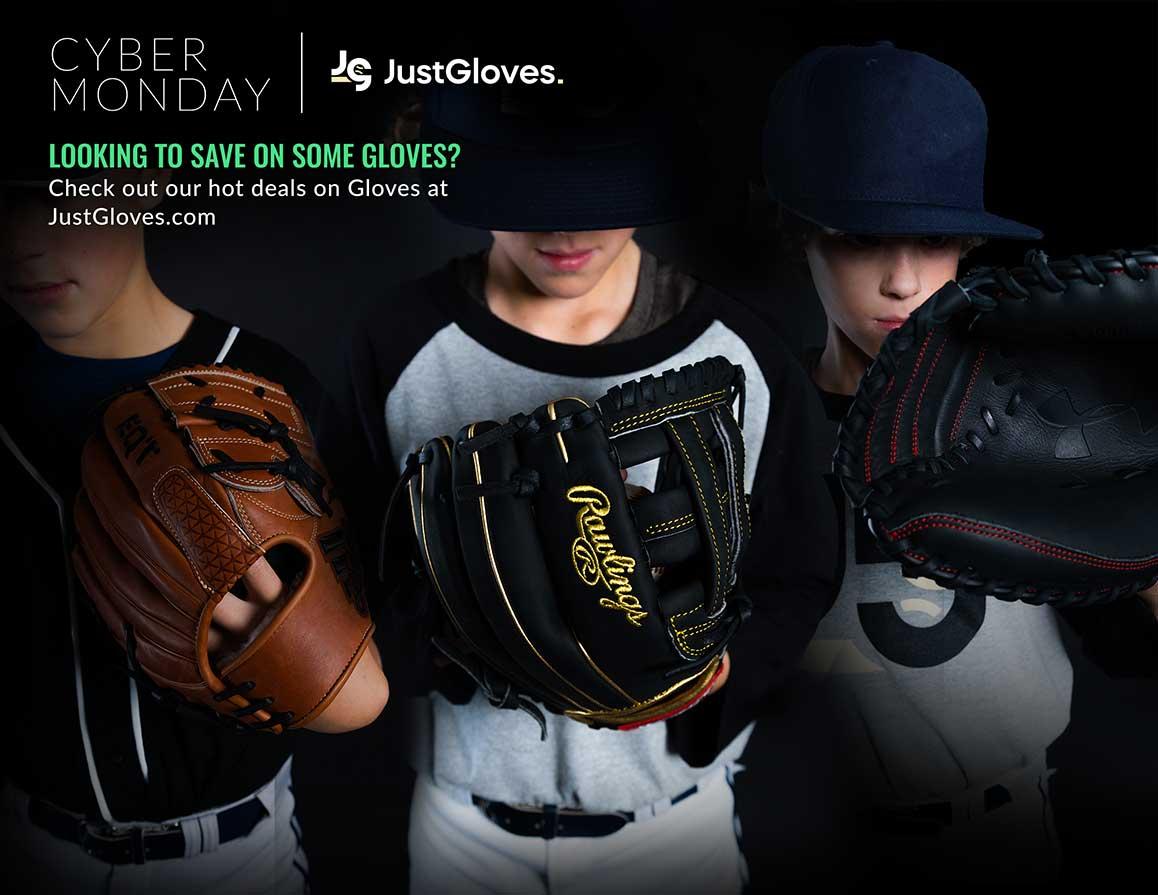 Cyber Monday Baseball and Softball Gloves