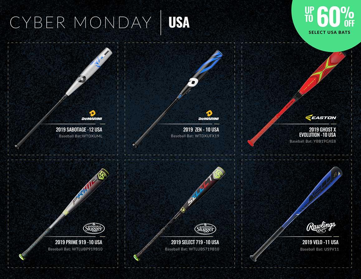 Cyber Monday USA Bats
