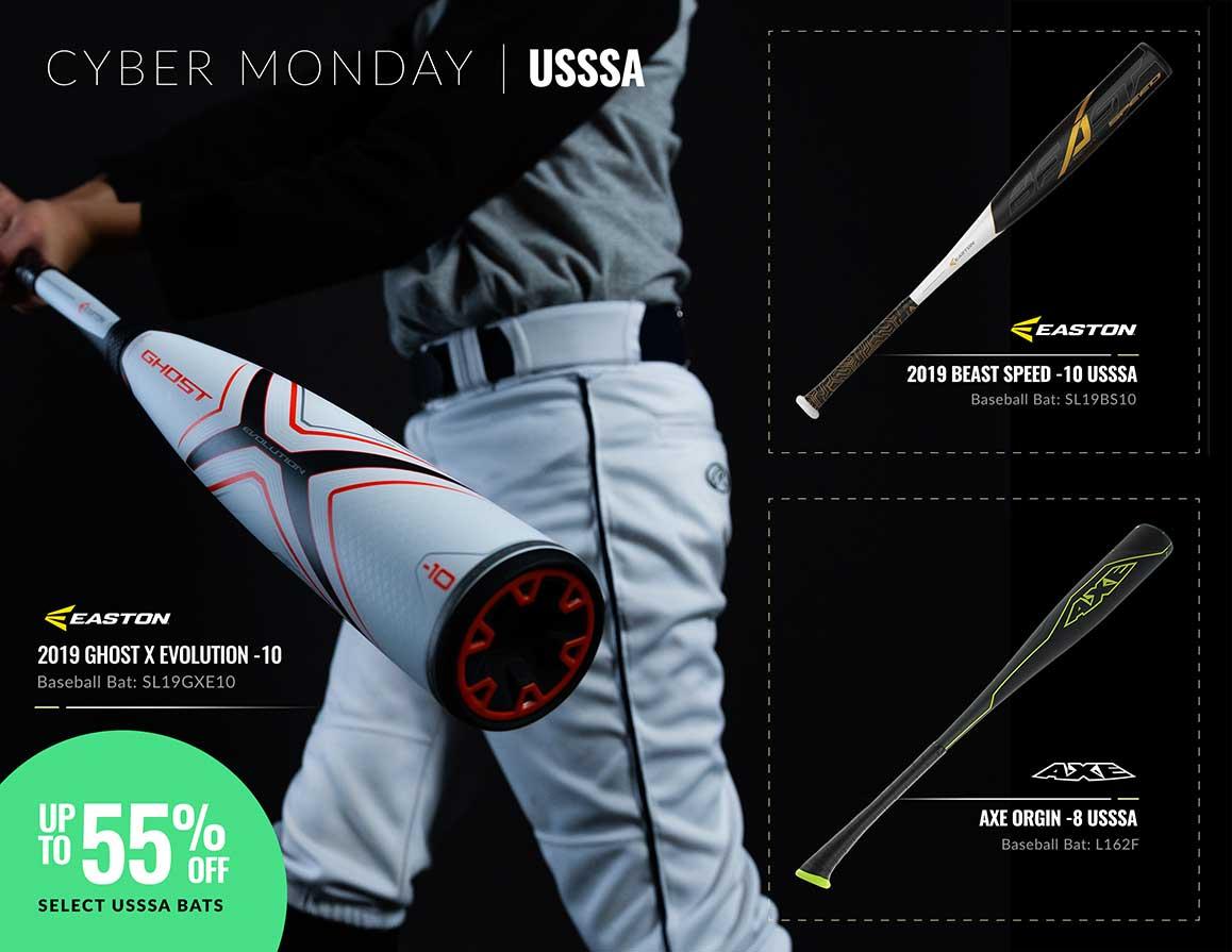 Cyber Monday USSSA Bats