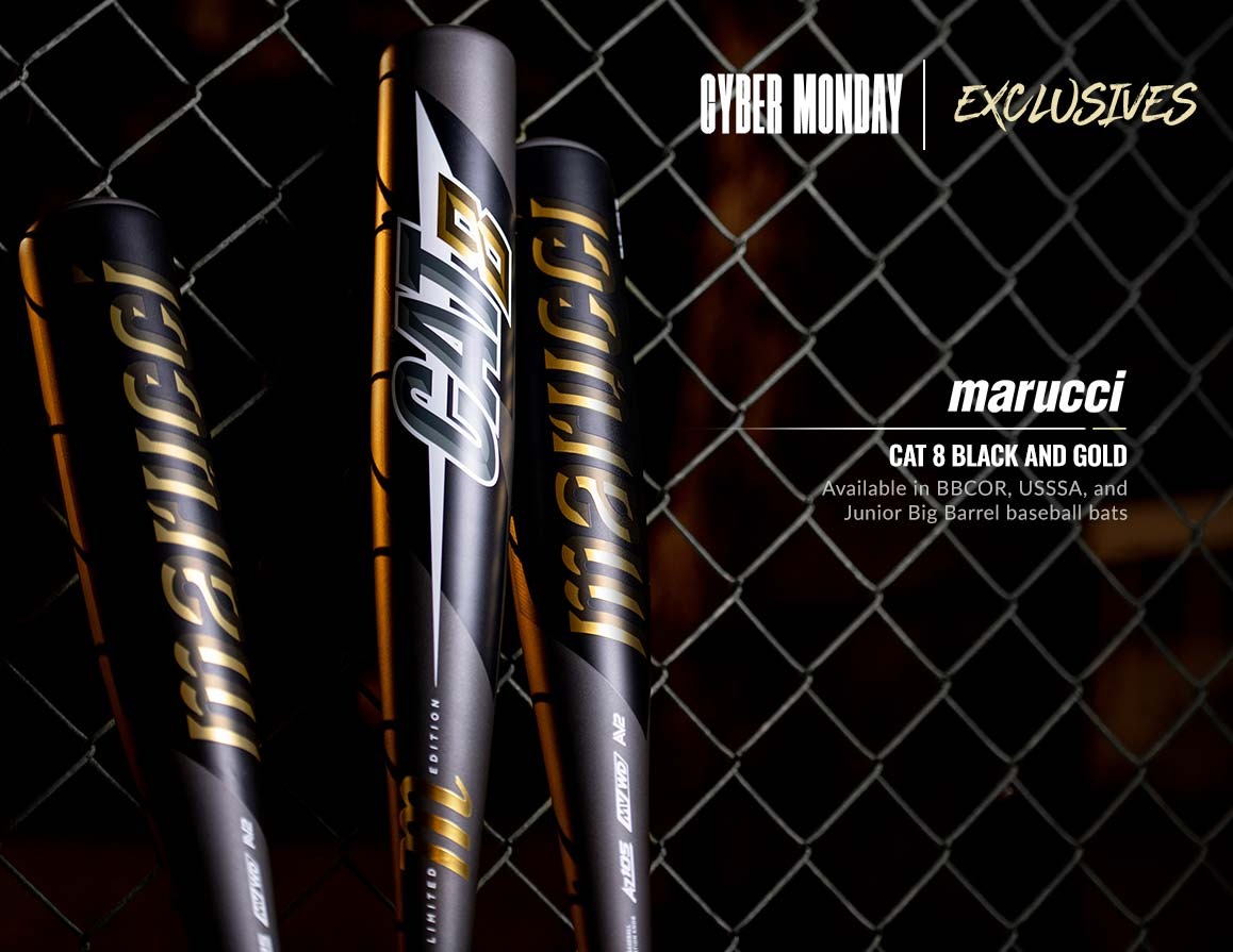 Cyber Monday Exclusive Bats
