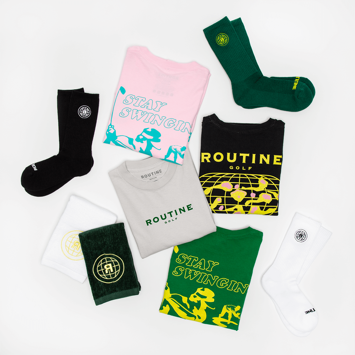 Routine Stay Swingin Golf Collection