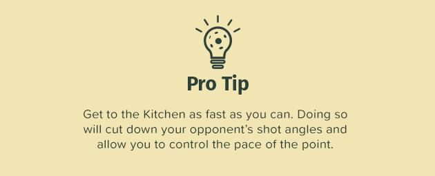 Pro Tip - Pickleball Kitchen