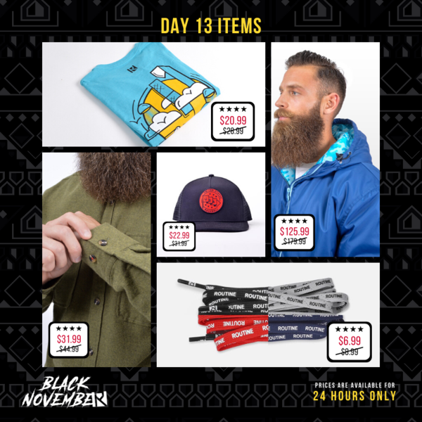 Routine Baseball Black November Sale Day 13