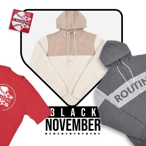 Routine Baseball Black November Sale Day 1 Items