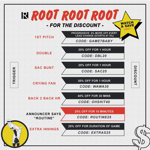 Root, Root, Root for the Discount - Game 7 Card
