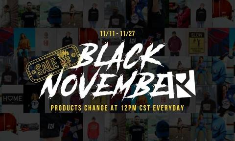 Routine Baseball Black November Sale