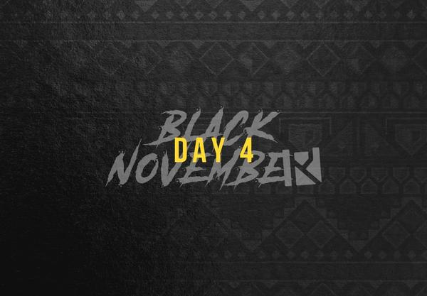 Routine Baseball Black November day 4