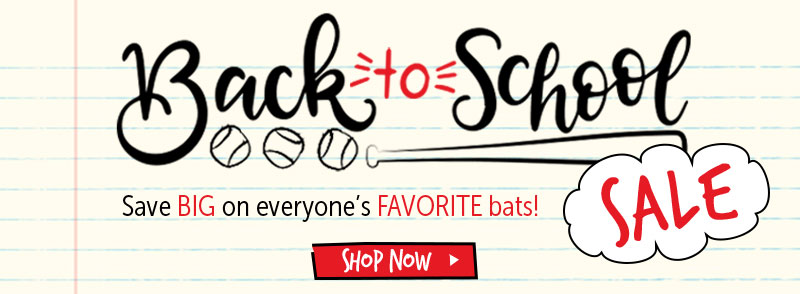 Great bats. Great prices. Great deals!