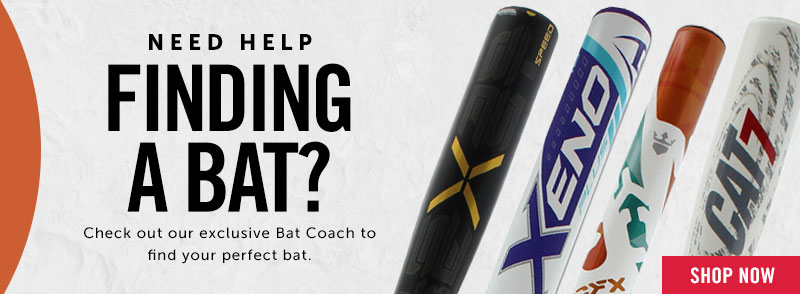 Let the Bat Coach help find your next bat!