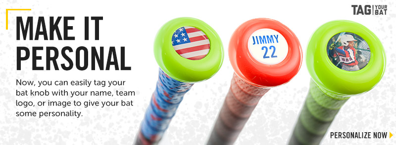 Personalize your next bat with the Bat Personalizer!