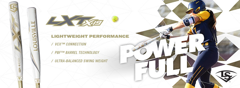 Power your way to 2019 with the NEW LXT bats!