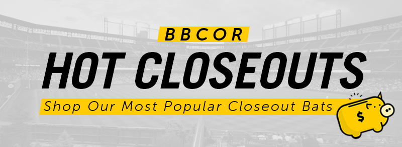 Closeout Prices On The Most Popular BBCOR Bats!