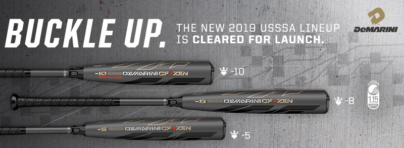See the NEW 2019 DeMarini USSSA Bats