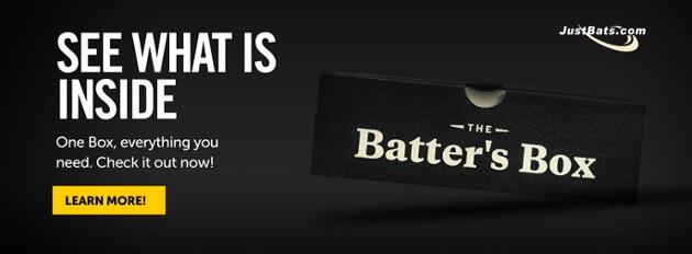 Batter's Box For Baseball Bats & Softball Bats