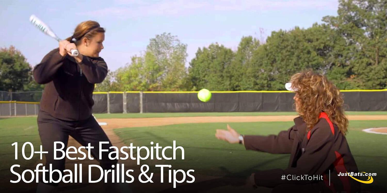 10+ Best Fastpitch Softball Drills & Tips