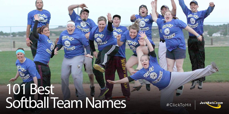 101 Best Softball Team Names