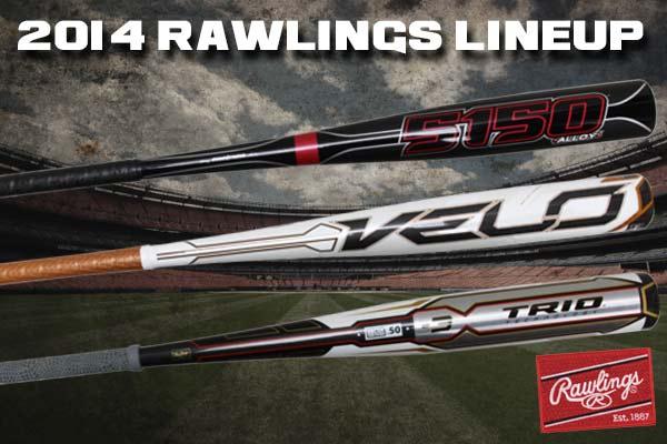 2014 Rawlings Bat Lineup