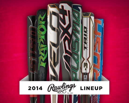 2014 Rawlings Baseball Bat Showcase