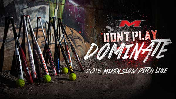 2015 Miken Slow Pitch Bats are Here!