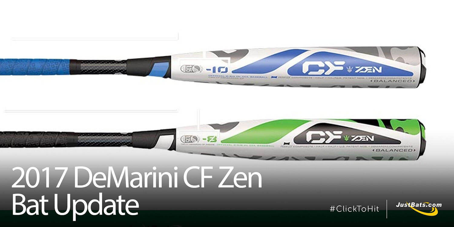 2017 DeMarini CF Zen Bat Update