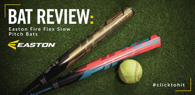 Bat Review: Easton Fire Flex Slow Pitch Bats