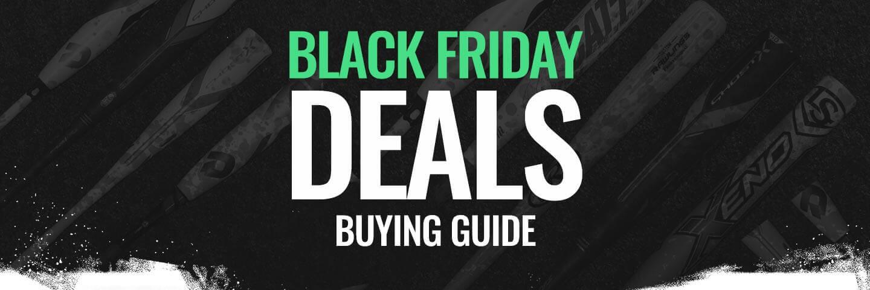 2018 Black Friday & Cyber Monday Baseball Bat Deals!