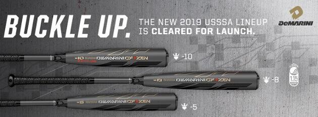 2019 DeMarini USSSA Baseball Bat Lineup