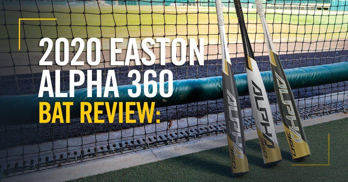 2020 Easton Alpha 360 Baseball Bat