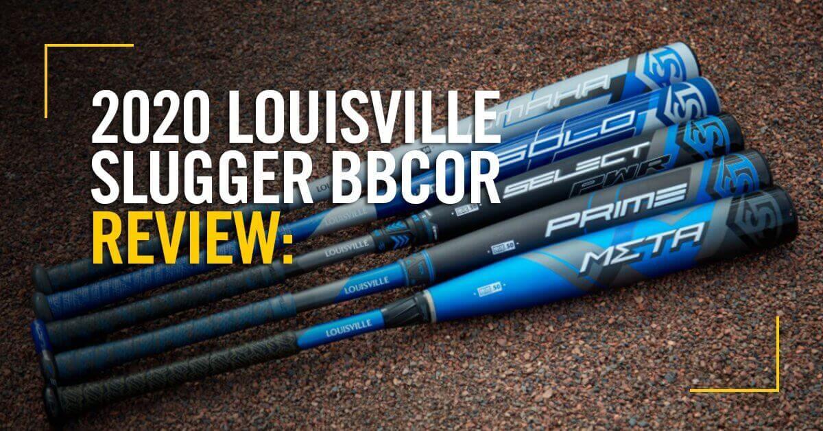 2020 Louisville Slugger BBCOR Bats
