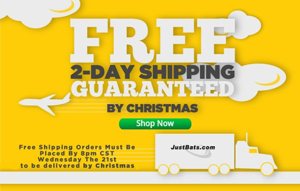 Free 2-Day Shipping Guaranteed