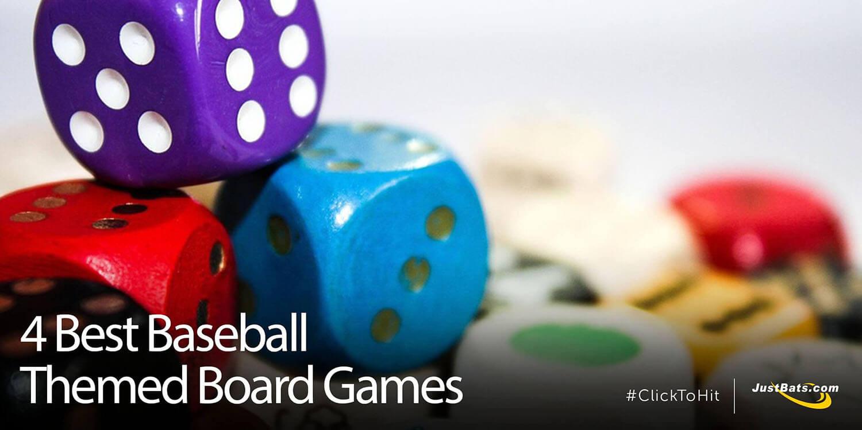 4 Best Baseball Themed Board Games