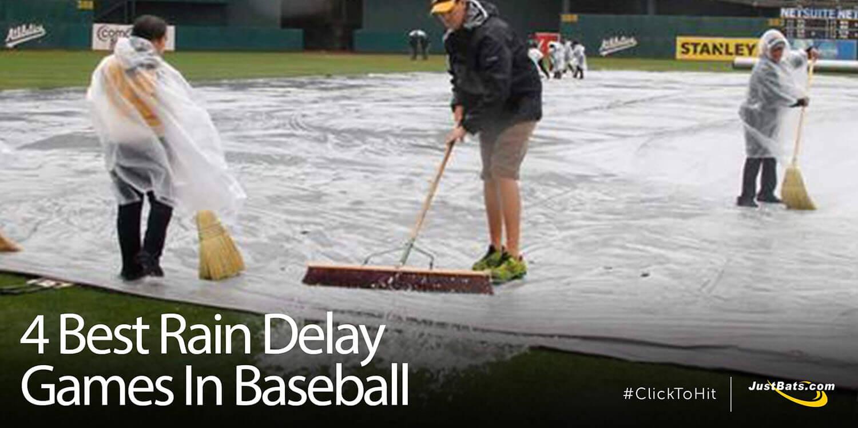 The 4 Best Rain Delay Games In Baseball