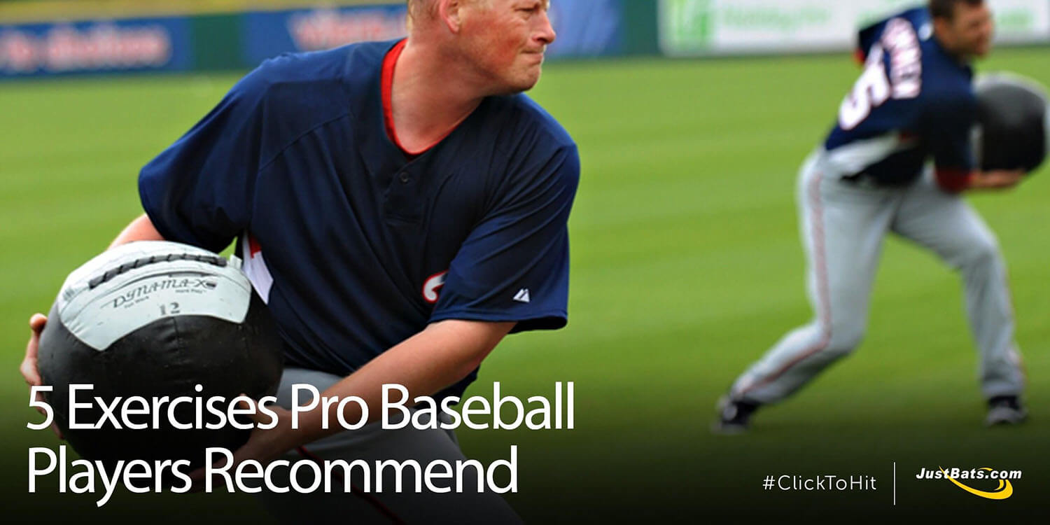 5 Exercises Pro Baseball Players Recommend