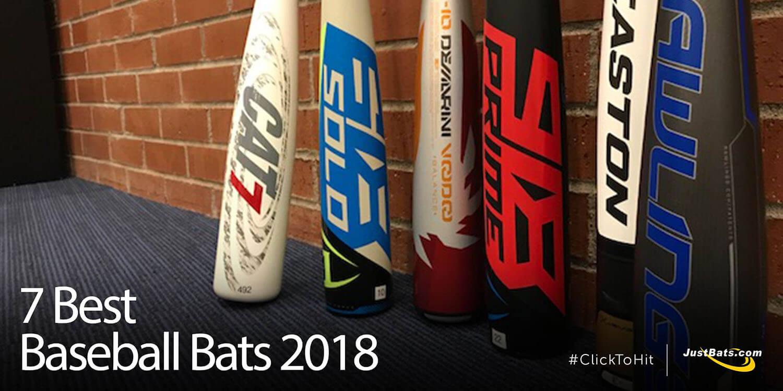 7 Best Baseball Bats 2018