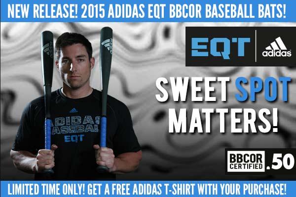 2015 Adidas EQT BBCOR Baseball Bats