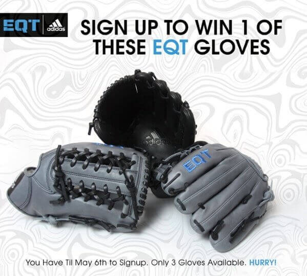 Win an Adidas EQT in JustBallGloves Glove Contest