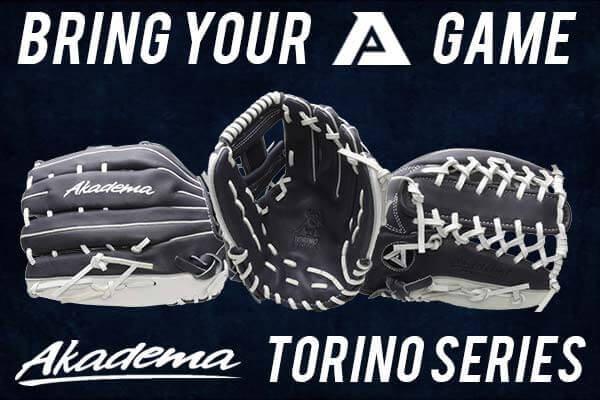 New Akadema Torino Series Baseball Gloves