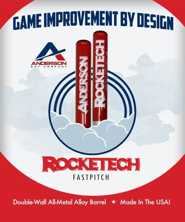 The New 2014 Anderson RockeTech Fastpitch Bat is Here