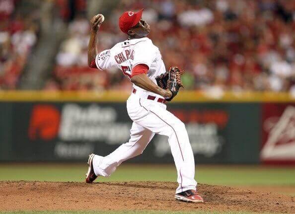 Aroldis Chapman Fastest Baseball Pitch