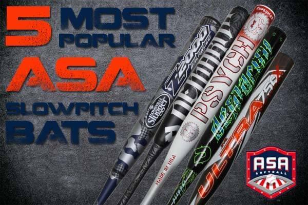 Most Popular ASA Slow Pitch Bats