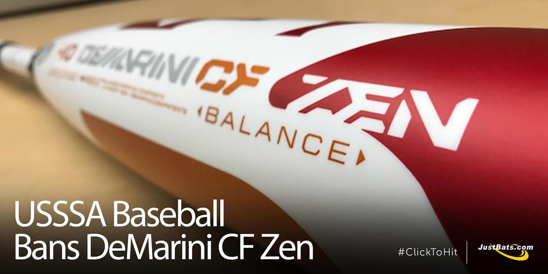 USSSA Baseball Bans DeMarini CF Zen