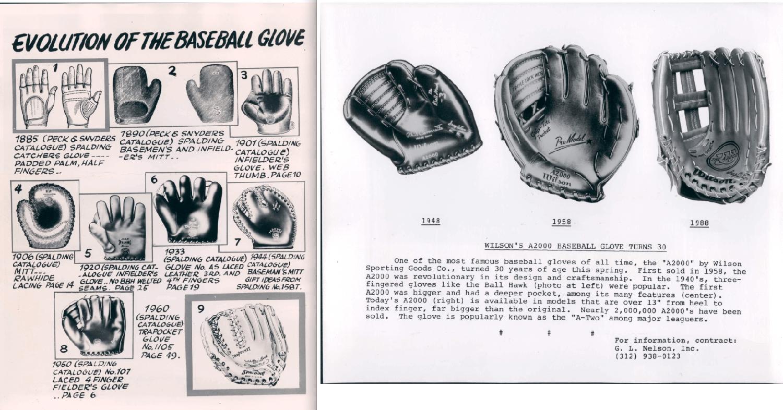 Baseball Glove History