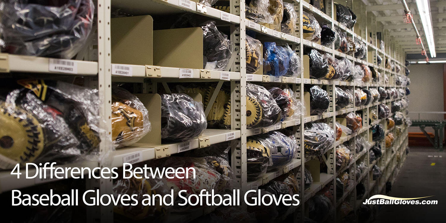 What's The Difference Between a Baseball Glove and Softball Glove?