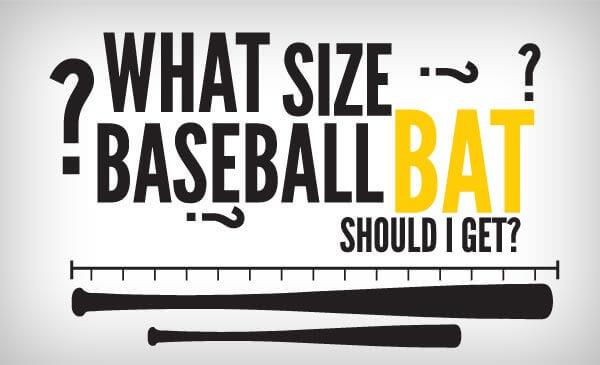 What Size Baseball Bat Should I Use?