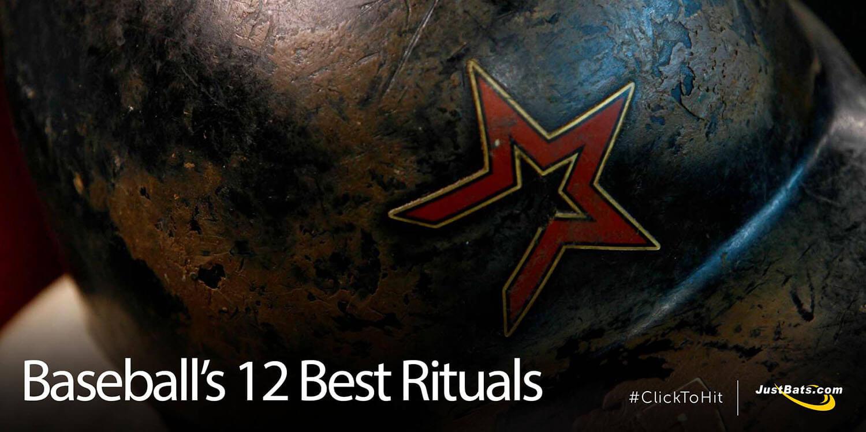 Baseball's 12 Best Rituals